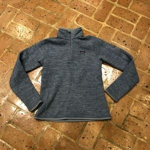 Light Blue speckled Patagonia Better Sweater
